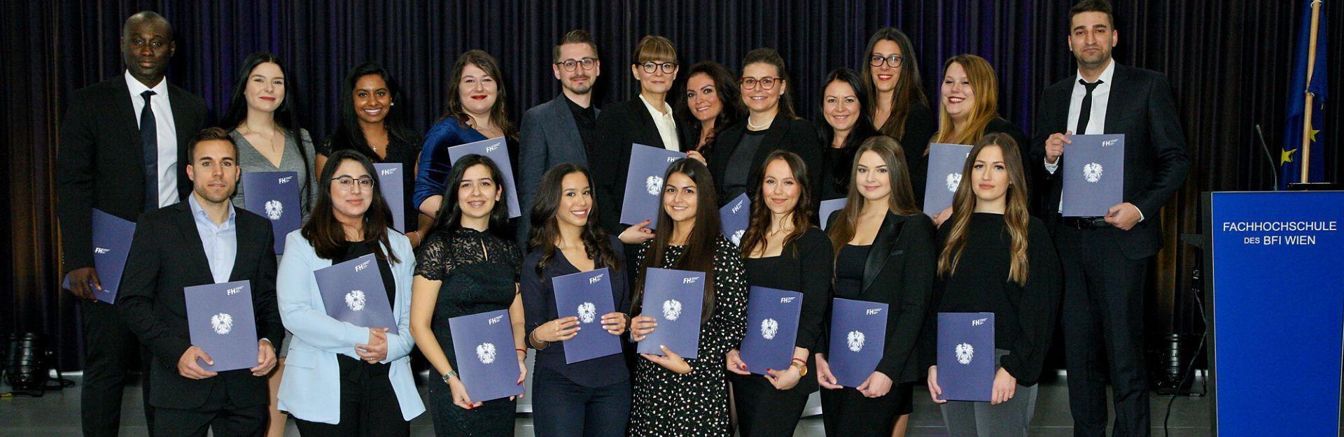 graduates of the university of applied sciences bfi vienna