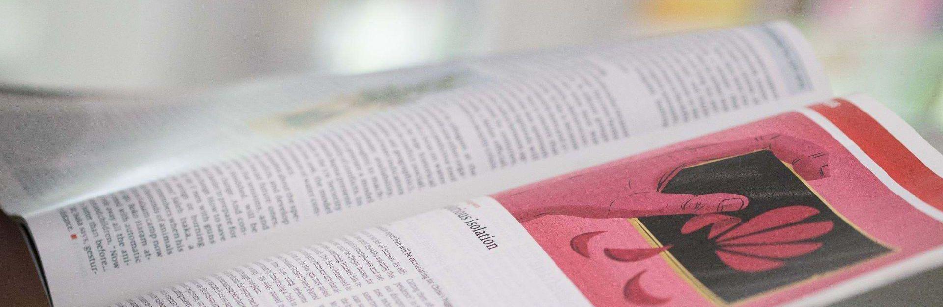 Bild einer Buchseite